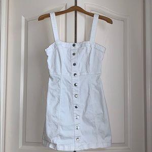 Button Up Cargo Dress